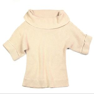 White House Black Market Short Sleeve Knit…